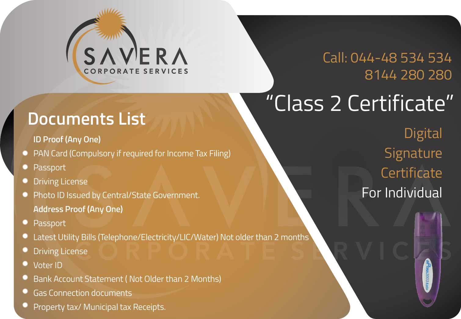 Savera Digital Signature Services In Chennai Tamilnadu